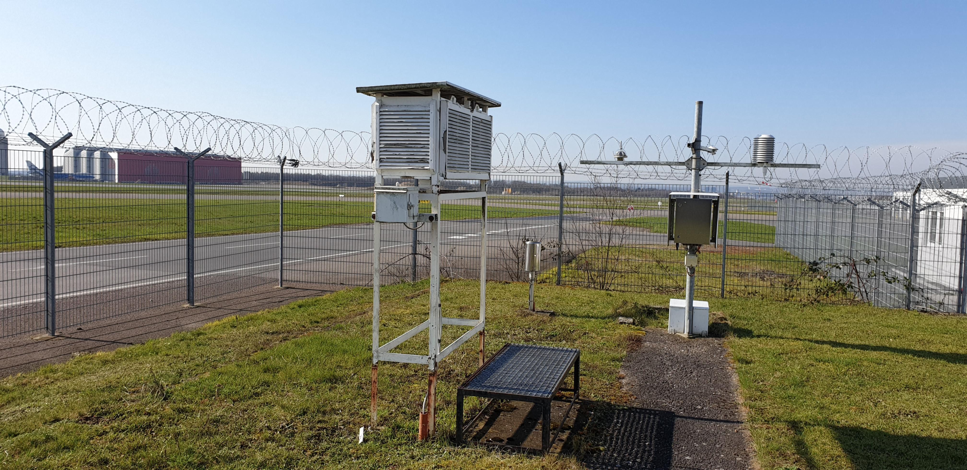 Données climatologiques mises à disposition en libre-accès par MeteoLux