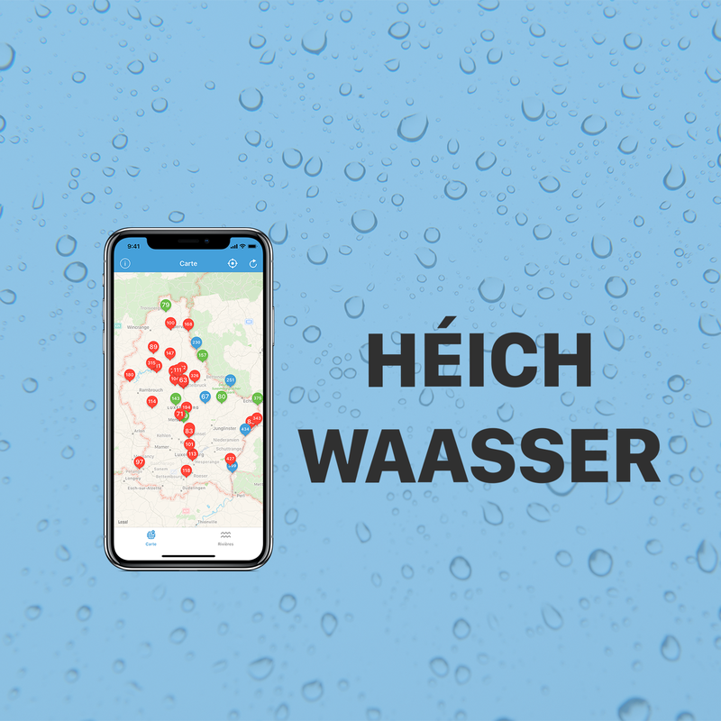 Héichwaasser App