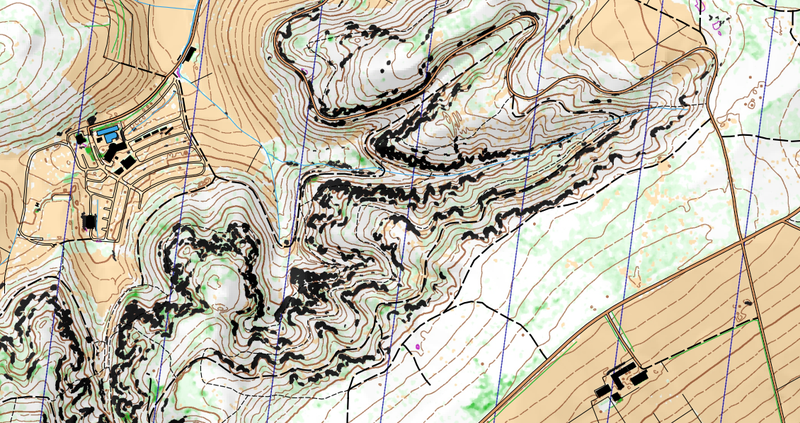 Cartographie pour course d'orientation