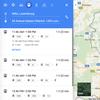 Intégration de l'horaire intégré mobiliteit.lu dans Google Maps