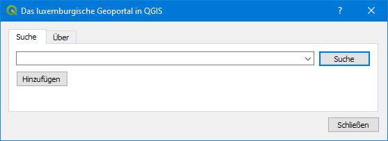 QGIS Plugin Geoportail LU